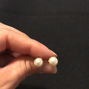 Brighton pearl earrings